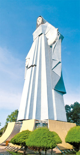 la virgen de la paz III